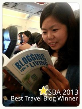 Singapore Blog Award winner Sock Peng and Blogging For A Living