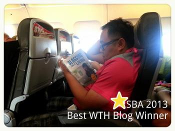 Singapore Blog Award winner Willy and Blogging For A Living