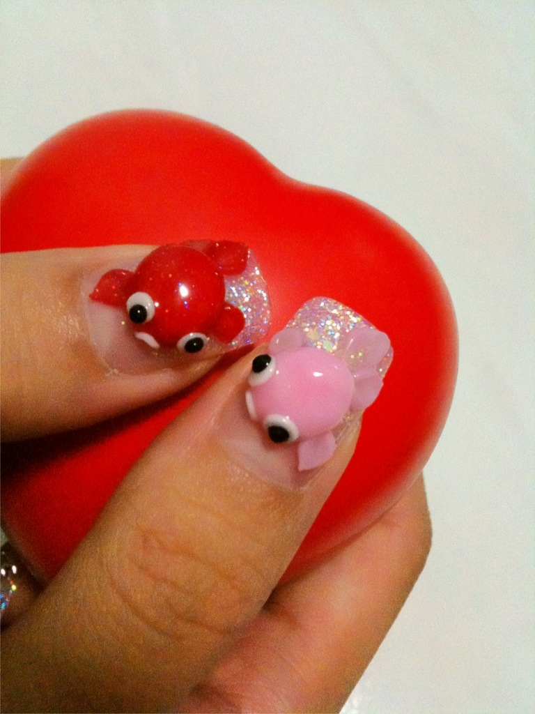 Hello Kitty 3d Nail Art Working With Grace