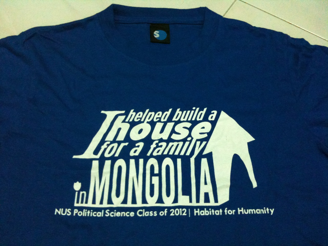 Help build a house for a family in mongolia working for Help building a house