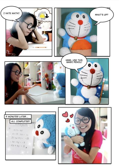 Doraemon Does My Homework