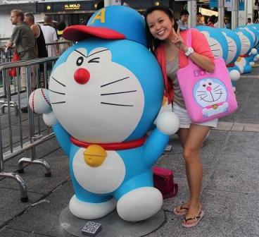 Me and Doraemon