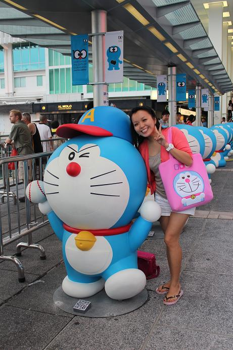 Me and my doraemon bag