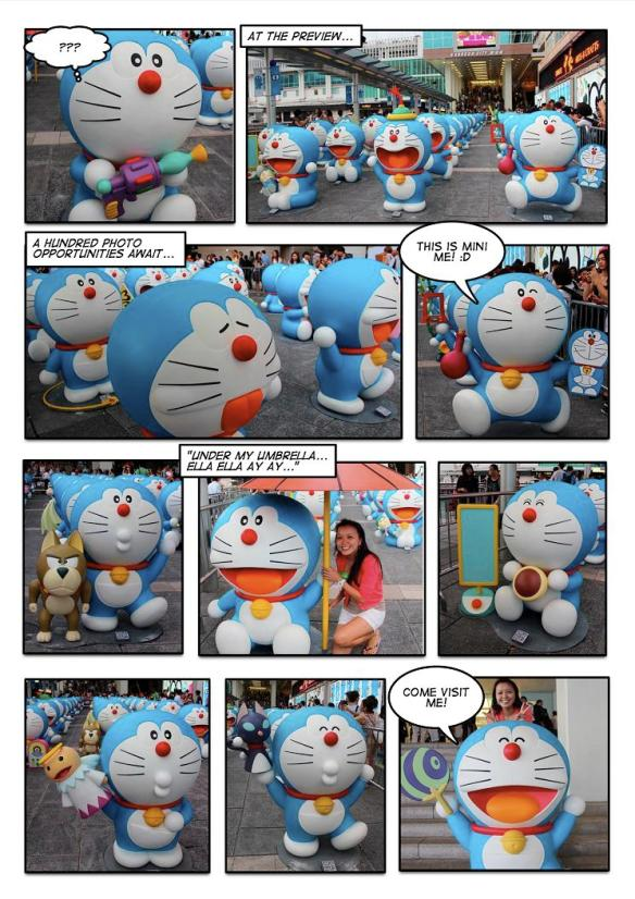 Preview of Doraemon Exhibition