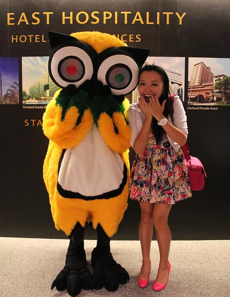 Tripadvisor's Mascot Ollie the Owl