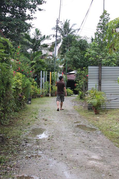At the kampong