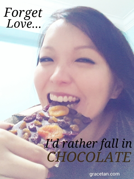 Forget Love I'd Rather Fall In Chocolate