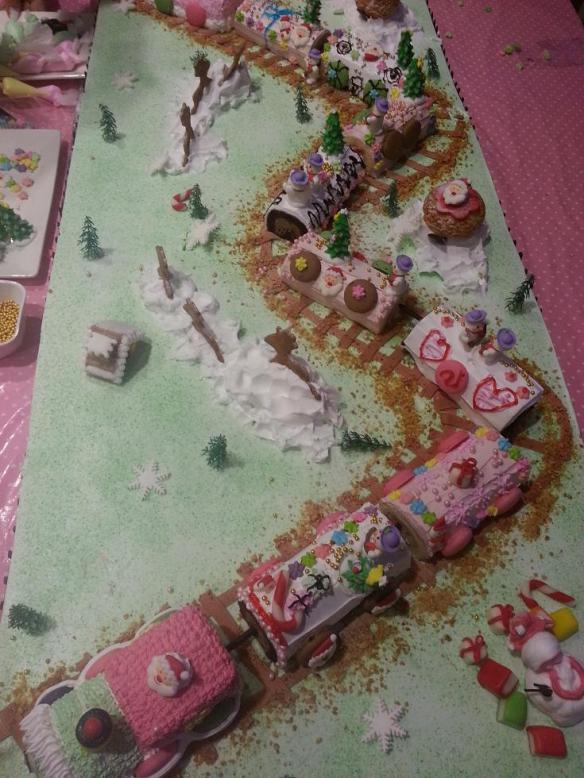 Log Cake Train