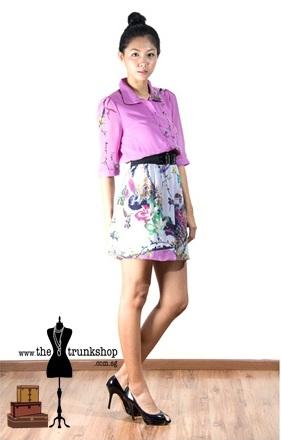 Mural Dress - www.thetrunkshop.com.sg