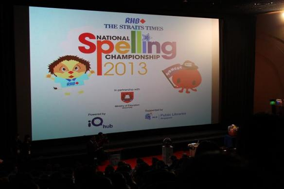 National Spelling Championship Singapore
