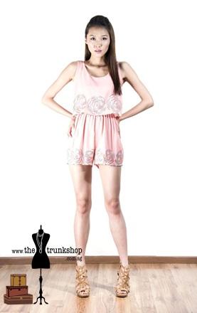 Romper Dress - www.thetrunkshop.com.sg