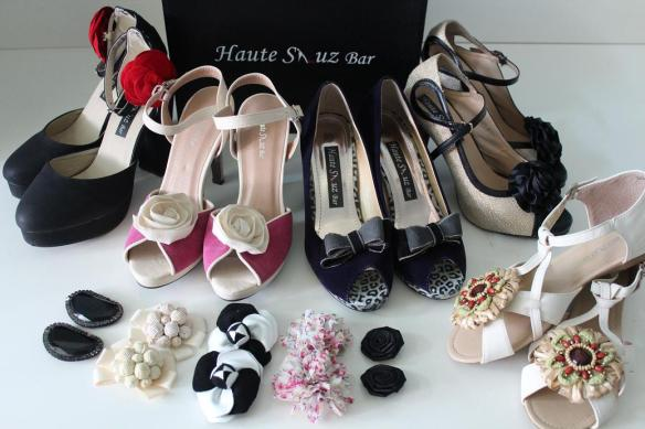 Five pairs of shoes from Haute Shuz Bar