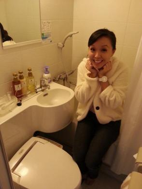 Toilet in Hotel Keihan Tenmabashi