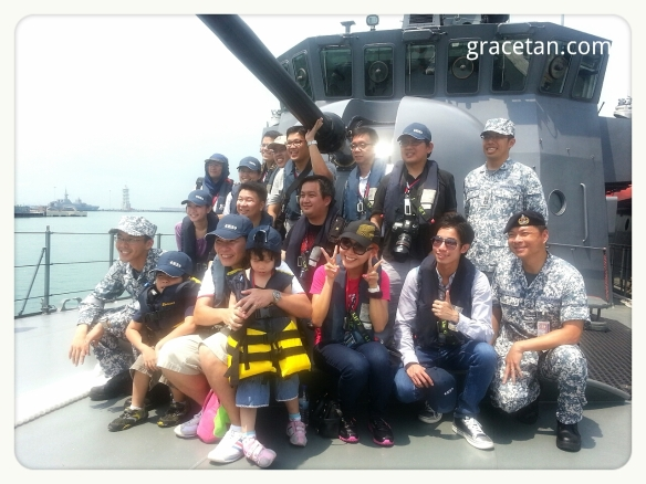 Bloggers at Navy Open House 2013