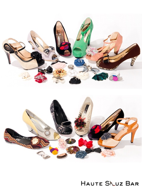 Haute Shuz Bar shoes