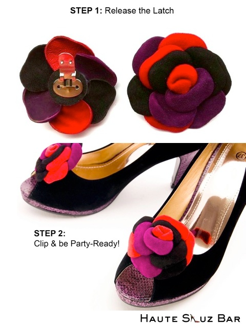 Haute Shuz Bar shoe clips