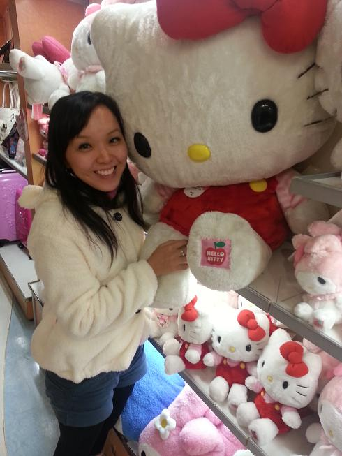 Sanrio Gallery Giant Hello Kitty