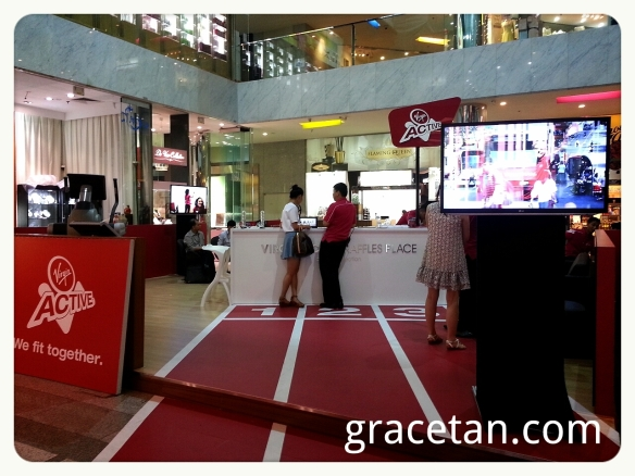 Virgin Active roadshow One Raffles Place
