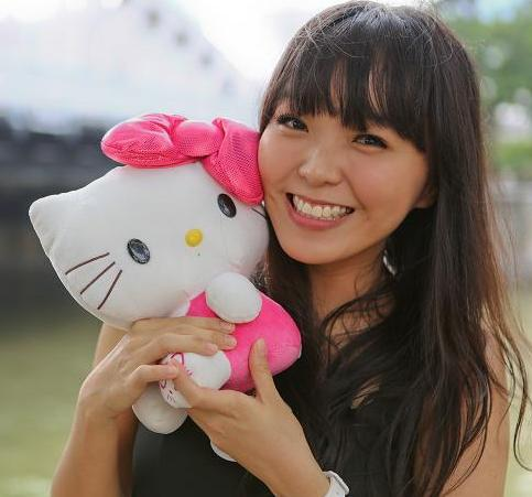 Hello Kitty blogger