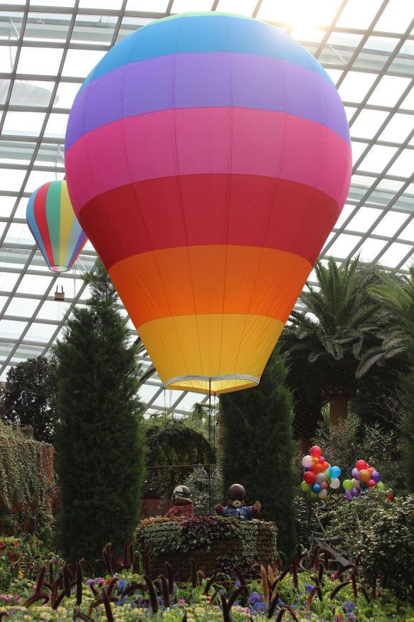 Hot air balloon teddy