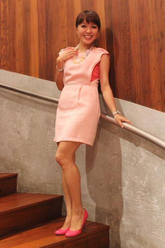 7th Heaven Byra Dress - Pink