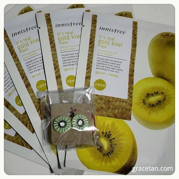 Gold Kiwi masks giveaway