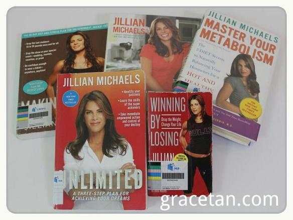 Jillian Michaels books