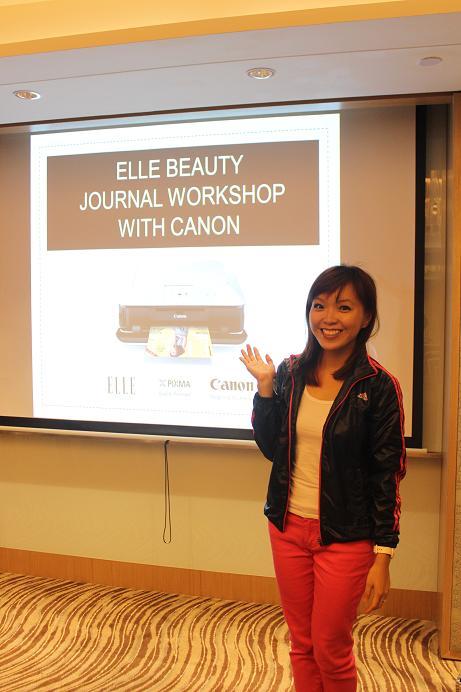 ELLE Canon Beauty Journal Workshop