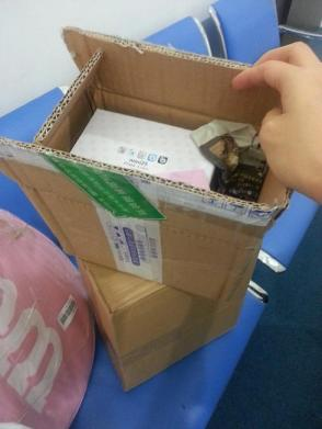 Instax box