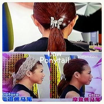 Lady First SG low ponytail