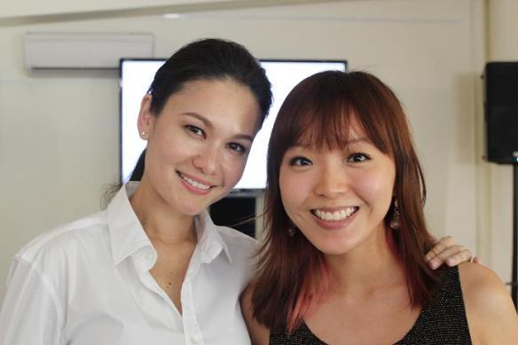 Eunice Olsen & Grace Tan
