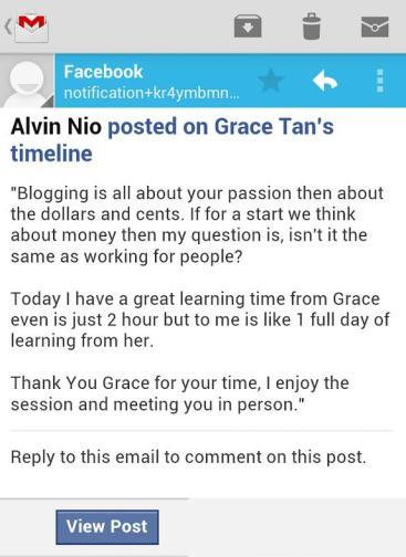Alvin Nio feedback