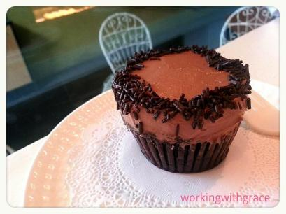 Chocolate Overload cupcakes by sonja manila