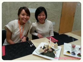 Blogger Grace and Minister Sim Ann 2