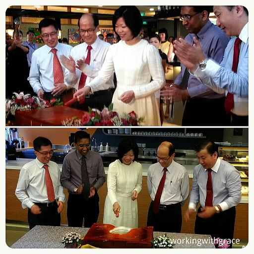Minister Sim Ann officiates opening of L'Rez and L'Cafe