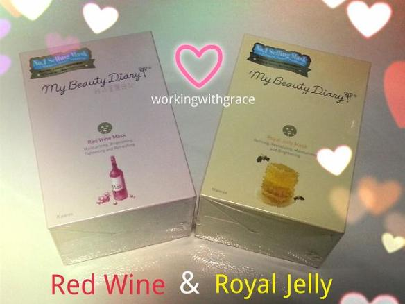 My Beauty Diary Red Wine Royal Jelly Mask