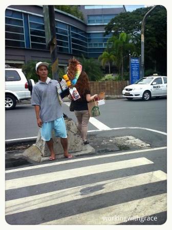 Street peddler Manila