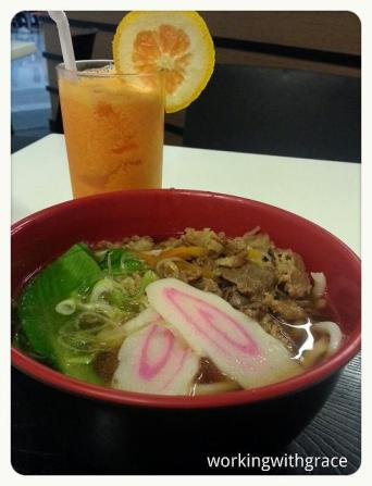 Udon at manila's airport