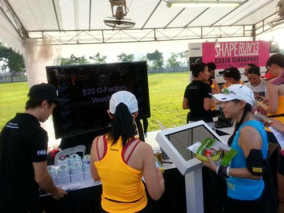 Casio Booth Shape Run 2013