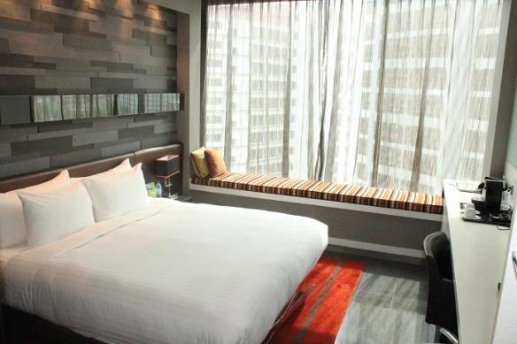 Quincy hotel room