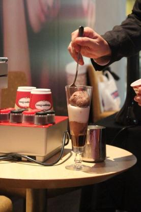 A Haagen Dazs and illy creation