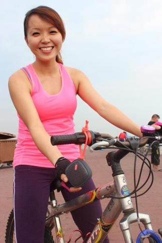 Cycling with NudeAudio