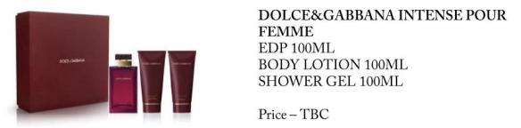 Dolce&Gabbana Intense Pour Femme