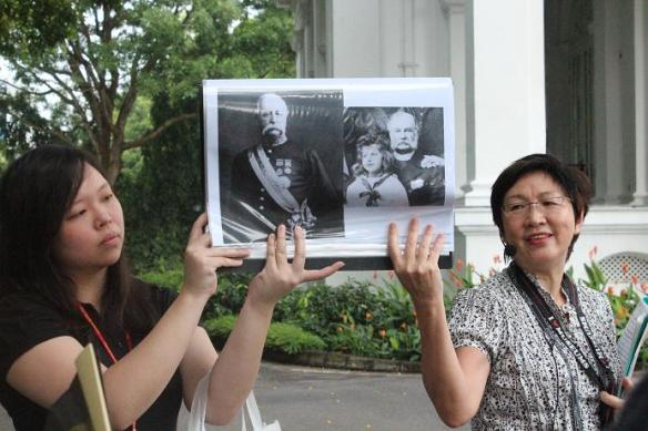 Istana Open House guide Peggy Lee
