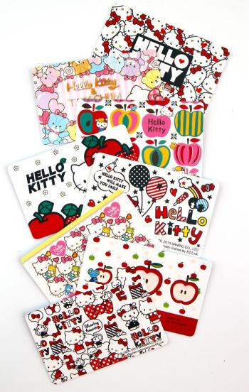Hello Kitty EZ-Link cards Classic