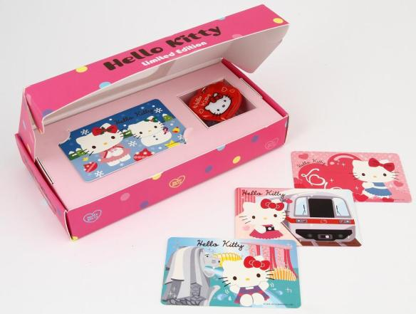 Hello Kitty ez-link Limited Edition cards