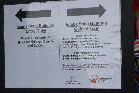 Istana State Building Guided Tour