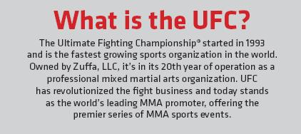 What is the UFC
