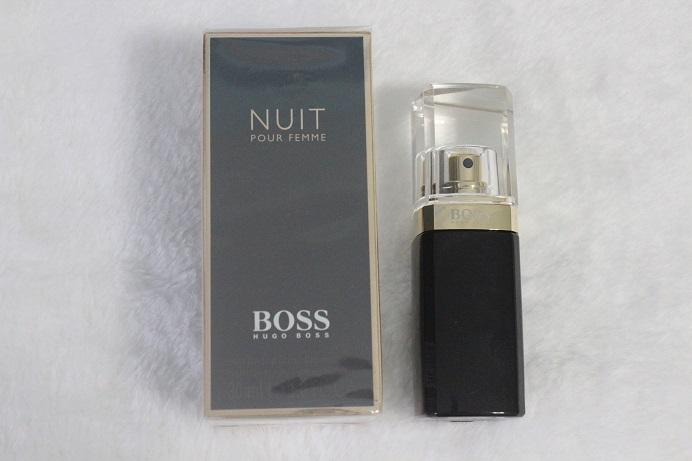 fragrance review boss nuit pour femme working with grace. Black Bedroom Furniture Sets. Home Design Ideas