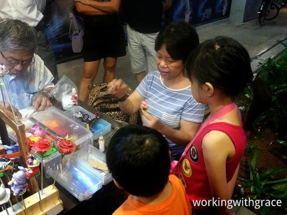 Singapore Dough Figurine